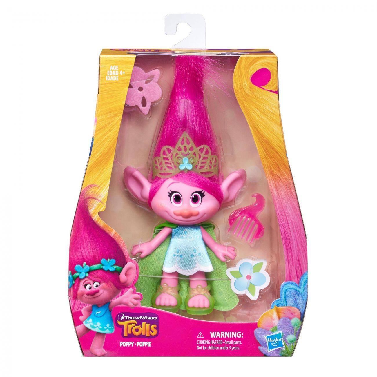 43aa06439bea Тролль среднего размера (в асс), игрушка Hasbro Trolls B6561 ...