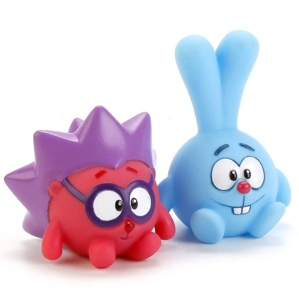 Набор из 2-х игрушек для ванной Смешарики (Крош и Ежик ...