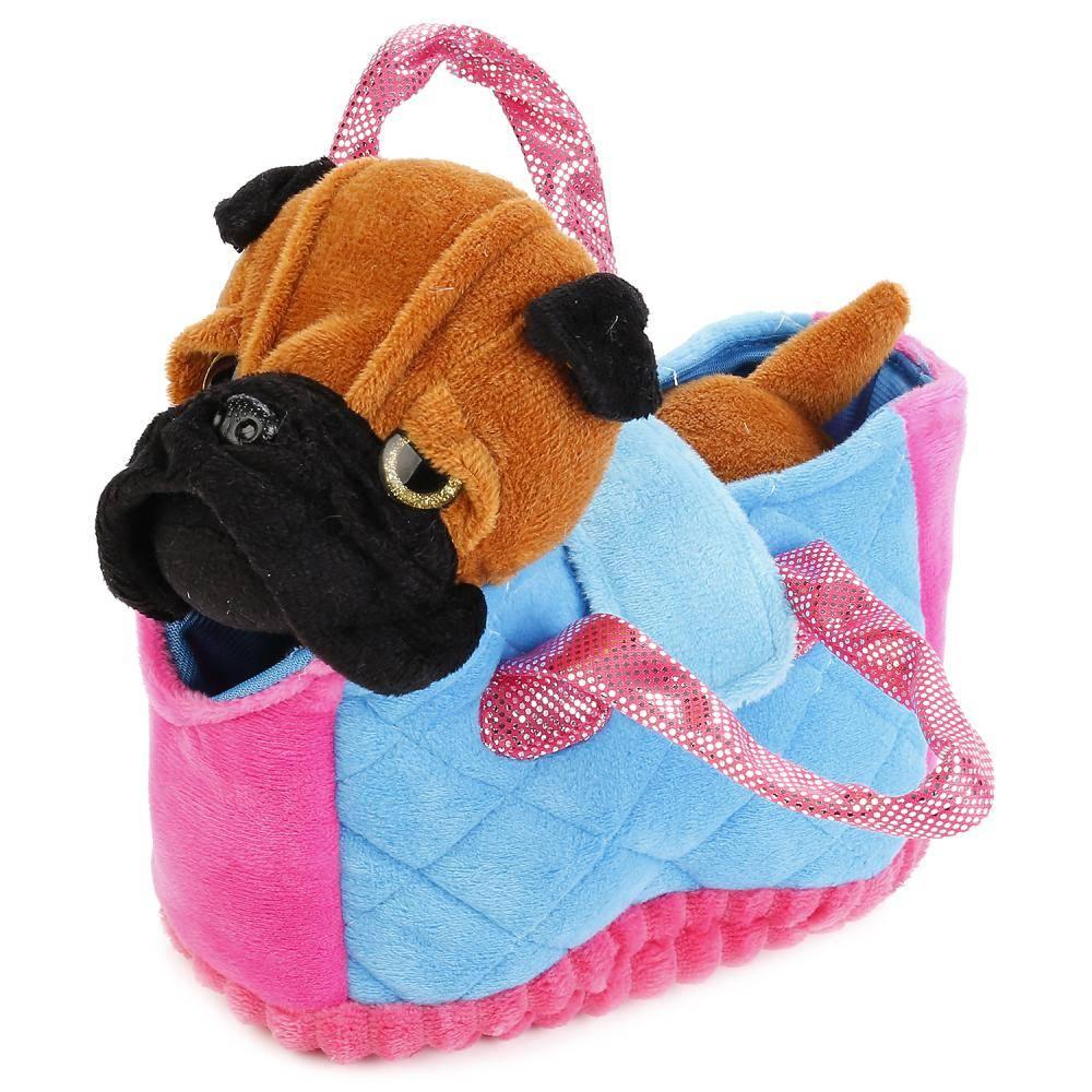 собака в сумке игрушка купить
