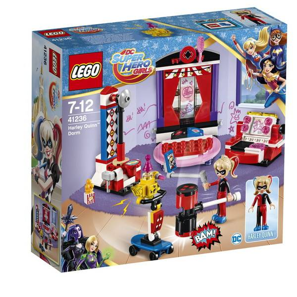 Дом Харли Квинн, конструктор Lego Super Hero Girls (Девушки Супергерои) 41236