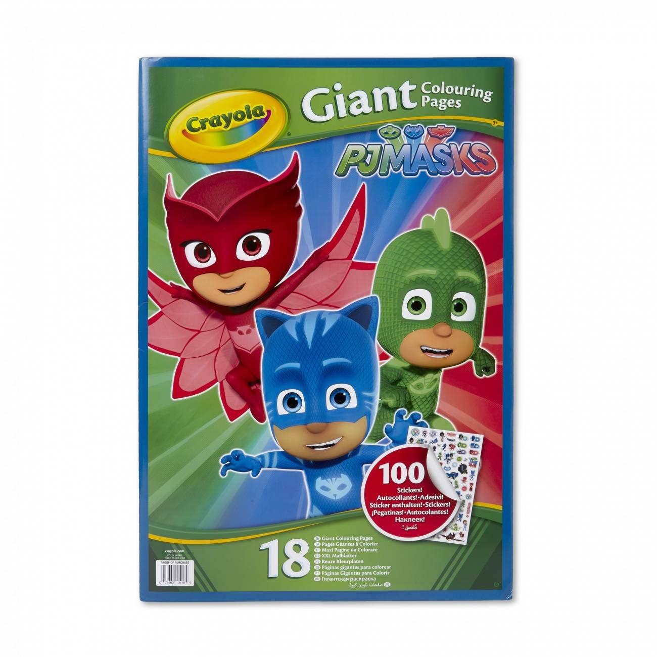 Раскраска «Герои в масках», с наклейками Crayola 04-0418C ...