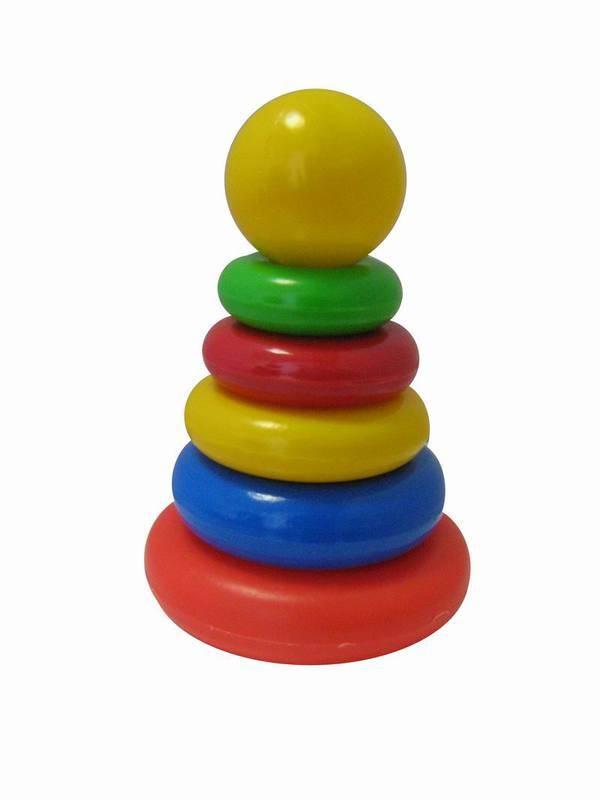 """Пирамида """"Малышок"""" игрушечная Пластмастер 91022 - купить в Москве"""