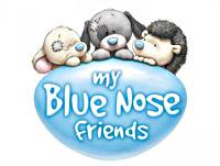 My blue Nose Friend