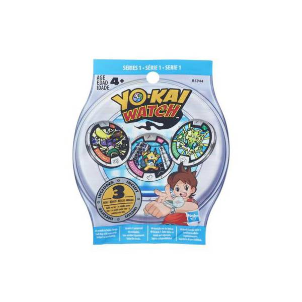 Медаль Йо-Кай Вотч (в асс) Yo-Kai Watch Hasbro B5944