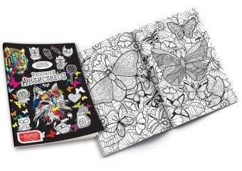 раскраски антистресс с фломастерами набор для креативного творчества данко тойс Ra 01 01