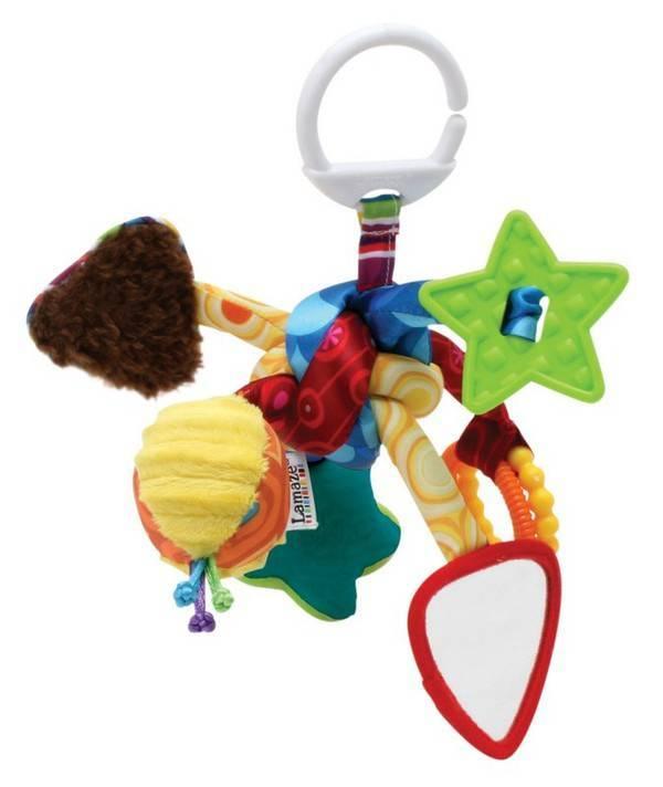 Подвесные развивающие игрушки для малышей